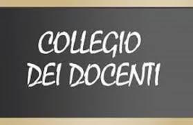 CONVOCAZIONE COLLEGIO DEI DOCENTI 15 MAGGIO 2021